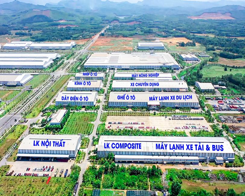 Tổng quan các nhà máy THACO Auto Parts
